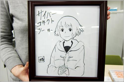 拓さん直筆サイン色紙!!