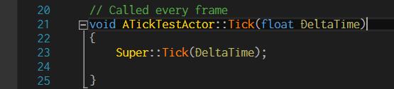 TestTickActor