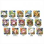 『フルボッコヒーローズX』獣人アイコン缶バッジ 全15種