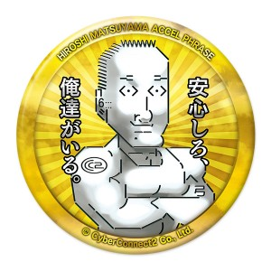マチ★アソビ限定デカ缶バッジ第2弾