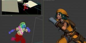 あまり疾走感のない必死さの伝わってこないアニメーションだったのを現在のものに修正しました。