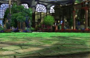 「アウラの庭」バトルステージ開発画面